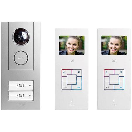 VISTUS VD6320 Video-Türsprechanlage für 2-Familienhaus