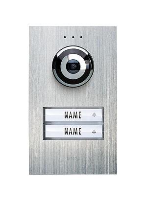 VISTADOOR VIDEO-AUSSENSTATION Compact Aussenstation für Aufputzmontage 2-Familienhaus Mod. VDV 620-C